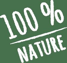 Illustration 100 % nature